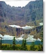 Iceberg Lake Metal Print