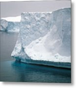 Icebergs In The Weddell Sea Antarctica Metal Print