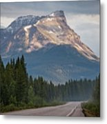 Icefields Parkway Banff National Park Metal Print
