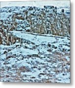 Iceland Country Side Clouds Mountains Stream Iceland Rocks Lake Clouds Iceland 2 2112018 0976 Metal Print