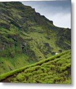 Iceland Hill Metal Print