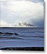 Iceland Lava Field Mountains Clouds Iceland Lava Field Mountains Clouds Iceland 2 282018 1837.jpg Metal Print