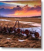 Iceland Sunset # 1 Metal Print