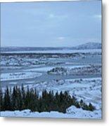Iceland Trees Mountains Rivers Lakes Iceland 2 2112018 0942 Metal Print