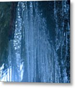 Icicles  5 Metal Print