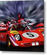 Ickx And Schetty Metal Print