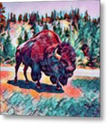 Icon Of The West Metal Print