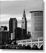 Iconic Cleveland Metal Print