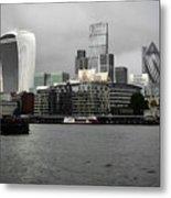 Iconic London Skyline Metal Print