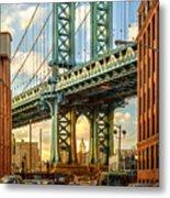 Iconic Manhattan Metal Print