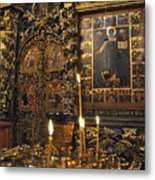 Iconostasis - Church Of Elijah The Prophet Metal Print