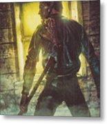 Icons Of Horror Evil Dead Metal Print