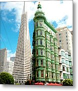 Icons Of San Fran Metal Print