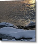 Icy Islands - Metal Print