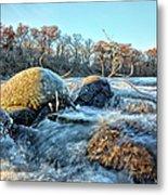 Icy Waters 2 Metal Print