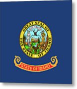 Idaho State Flag Metal Print