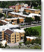Idaho State University Upper Campus With Holt Arena Metal Print