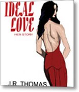 Ideal Love Book Cover Metal Print