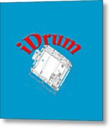 iDrum Metal Print