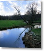 Idyllic Creek Metal Print