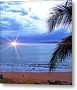 Idyllic Paradise In Bocas Del Toro, Panama II Metal Print
