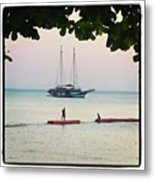 Idyllic Setting To Idle The Time Away Metal Print