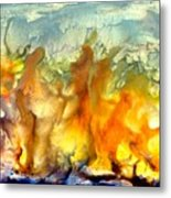 If Flames Could Speak Metal Print