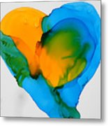 If The World Would Have Heart Metal Print