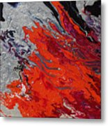 Ignition Metal Print
