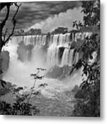 Iguazu Falls Vi Metal Print