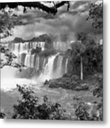 Iguazu Falls Vii Metal Print