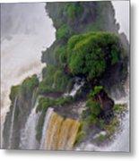 Iguazu Falls Viii Metal Print
