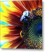I'll Bee There Metal Print
