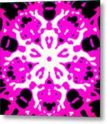 Illuminance Flower Metal Print