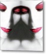 Illumination 2 - Self Portrait Metal Print