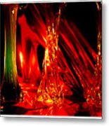 Illusion Of Colours Metal Print