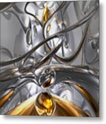 Illusions Abstract Metal Print