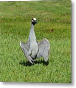 I'm Just Standing Here Metal Print