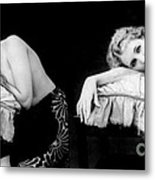 Im Too Tired, Nude Model, 1928 Metal Print