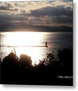 Image Included In Queen The Novel - Lighthouse Contrast Metal Print