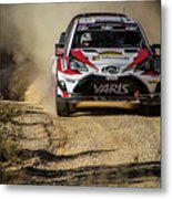 imagejunky_KB - RallyRACC WRC Spain - Esapekka Lappi / Janne Ferm Metal Print
