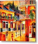 Images Of The French Quarter Metal Print