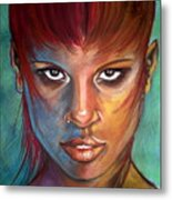 Imaginatti Metal Print by Yxia Olivares