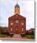 Immaculate Conception Chapel - University Of Dayton Metal Print