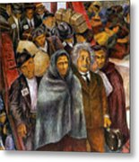 Immigrants, Nyc, 1937-38 Metal Print