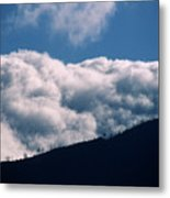 Imminent Judgment - San Rafael Mountains Metal Print