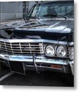 Impala - Supernatural Metal Print