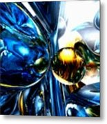 Impassioned Abstract Metal Print