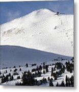 Imperial Bowl On Peak 8 At Breckenridge Colorado Metal Print