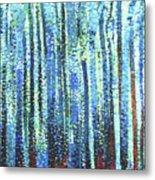 Impression Of Trees Metal Print